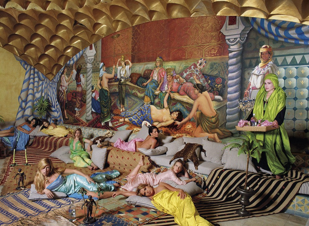 Harem (from the series Ricas y famosas), C Print