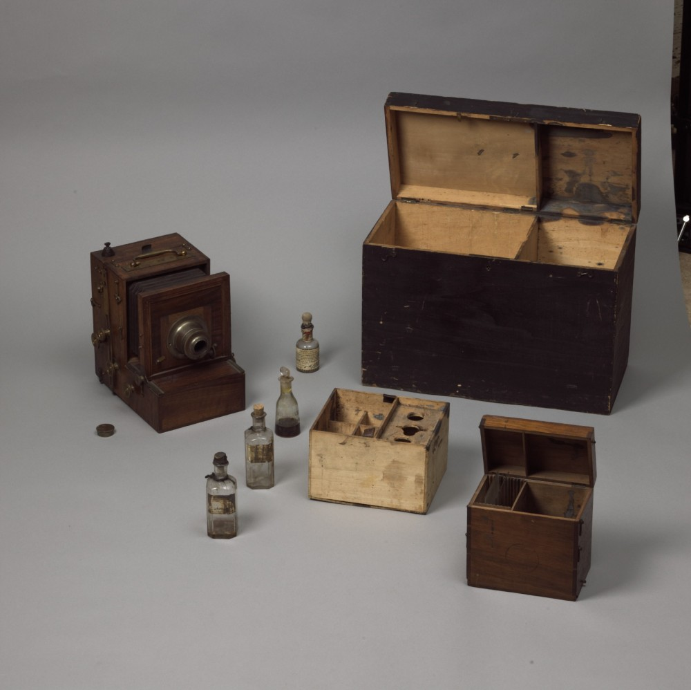 Invention du collodion humide